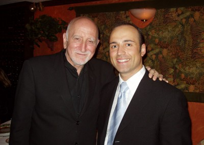 Paolo Siani with Dominic Chianese